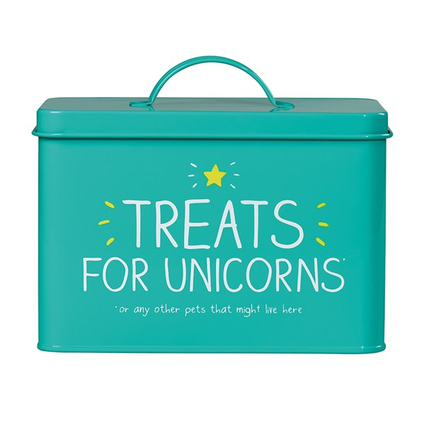 Unicorn Treats Pet Tin from Happy Jackson