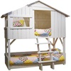 Fun Bed for Kids, white tree house bunk bed