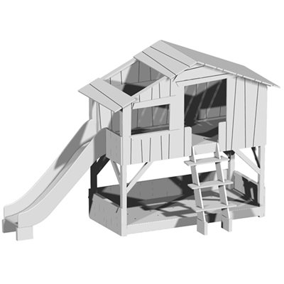 SLIDE FOR MATHY BY BOLS TREEHOUSE BUNK BED