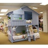 Powder Blue Bunkbed in Treehouse Design