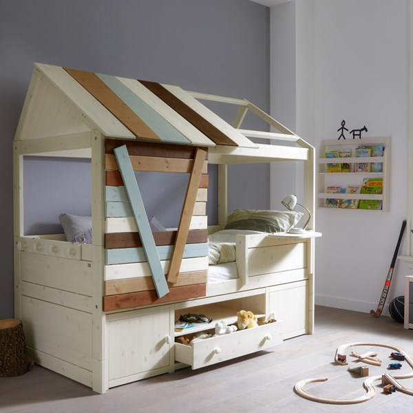 childrens cabin bed with storage
