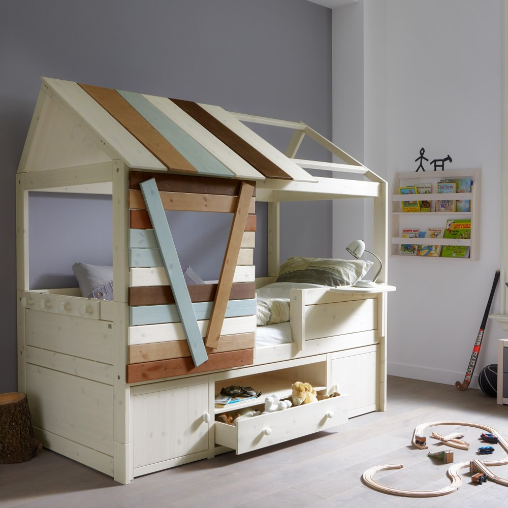 Treehouse Cabin Storage Bed Lifetime Cuckooland Jpg