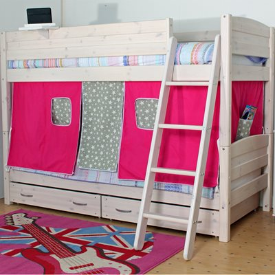 THUKA TRENDY KIDS BUNK BED in Whitewash Pine