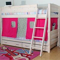 THUKA TRENDY KIDS BUNK BED in Whitewash Pine