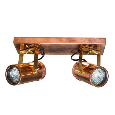 Dutchbone Scope Double Spot Light in Copper