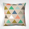 Cushions with Triangle Print
