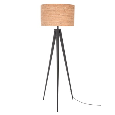Zuiver Tripod Floor Lamp in Cork