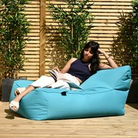 Product photograph showing Extreme Lounging B Bed Outdoor Bean Bag - Grey