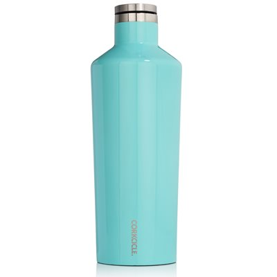 CORKCICLE CANTEEN TRIPLE INSULATED VACUUM FLASK in Turquoise