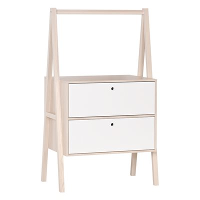 SPOT CHEST OF TWO DRAWERS in Acacia