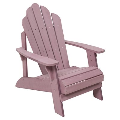 CAREFREE UNCLE JACKS ADIRONDACK CHAIR in Pink