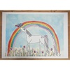 Unicorn Hand Drawn Kids Art Work