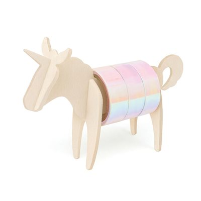 UNICORN TAPE DISPENSER  with Pearlescent Tape