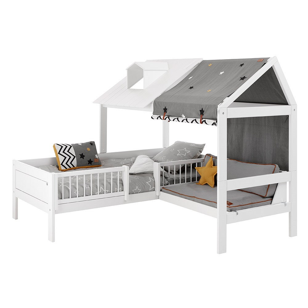 Lifetime Kids Corner Beach House Bed With Bench