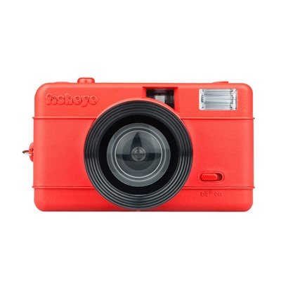 LOMOGRAPHY FISHEYE ONE CAMERA - Red