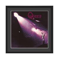 QUEEN FRAMED ALBUM WALL ART in Queen Print  Large