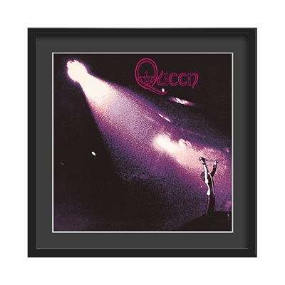 QUEEN FRAMED ALBUM WALL ART in Queen Print