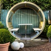 Outdoor Garden Pod with Seat