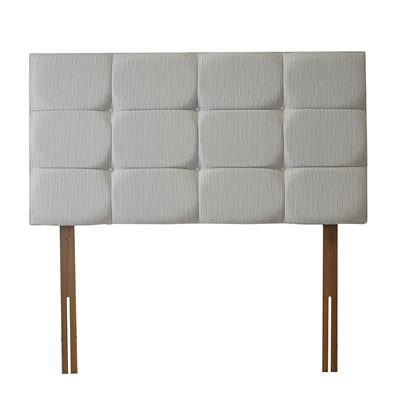 AIRSPRUNG UTAH HEADBOARD in Grey