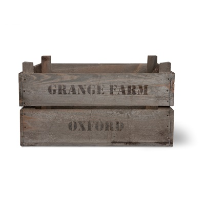VINTAGE WOODEN FRUIT CRATE by Garden Trading