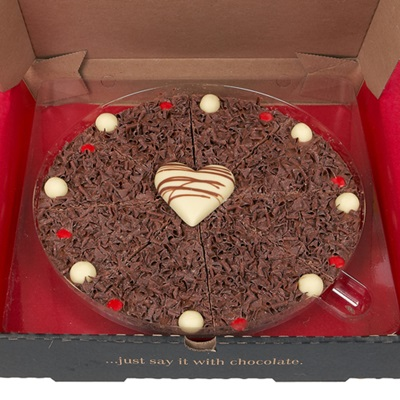 "VALENTINES 10"" CHOCOLATE PIZZA"