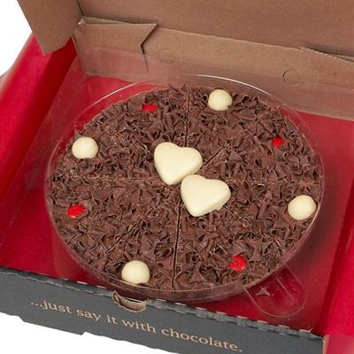 "VALENTINES 7"" CHOCOLATE PIZZA"