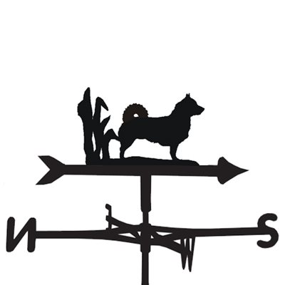 Weathervane in Valhund Dog Design