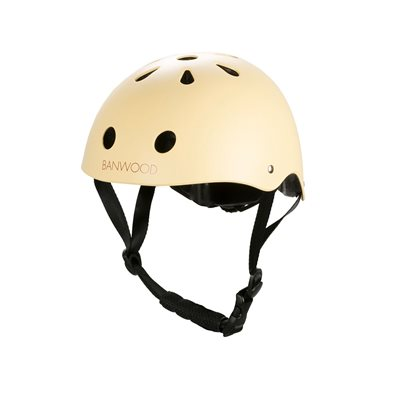 Banwood Kids Cycle Helmet in Vanilla