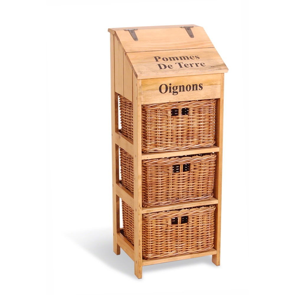 Papillon Onion Potatoes Storage Box Kitchen Storage Cuckooland - Kitchen storage boxes