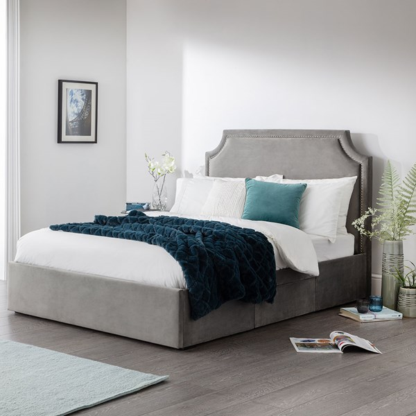 Mayfair Upholstered Bed with 3 Drawers by Julian Bowen