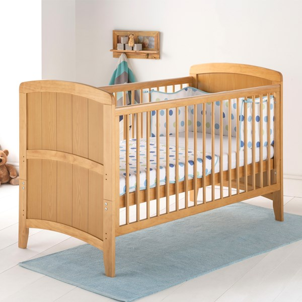 East Coast Baby and Toddler Cot Bed in Antique Venice Design