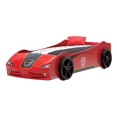 CHILDREN'S V6 CAR BED in Red Vento Design