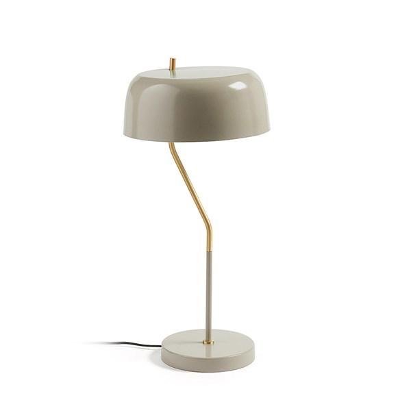 Versa Retro Table Lamp in Beige by La Forma