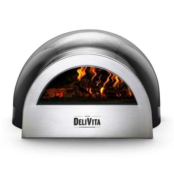 DeliVita Outdoor Pizza Oven in Very Black