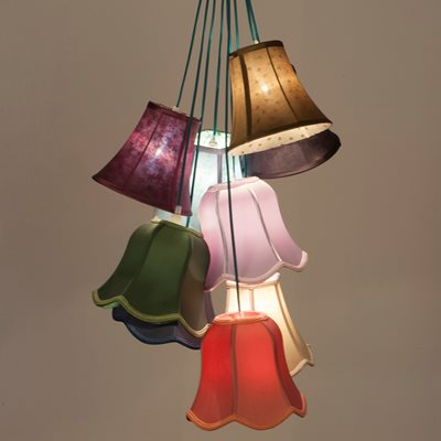 RETRO CEILING LIGHT in Cotton Mix