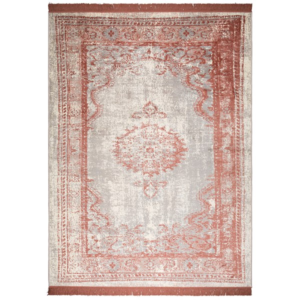 Zuiver Marvel Persian Style Rug in Blush Pink