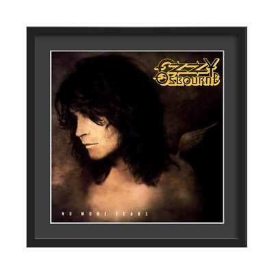 OZZY OSBOURNE FRAMED ALBUM WALL ART in No More Tears Print