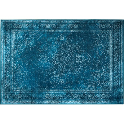 DUTCHBONE RUGGED PERSIAN STYLE CARPET in Ocean Medium