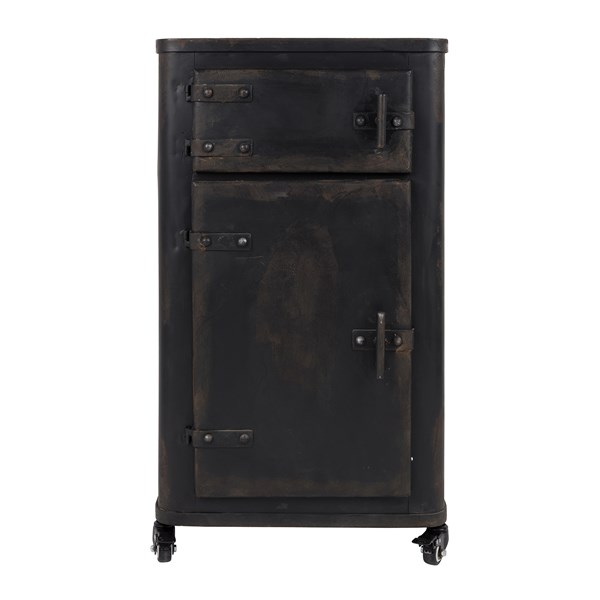 Rustic Style Bedside Cabinet