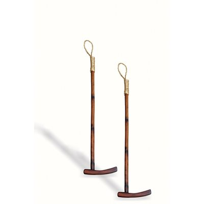 VOYAGER DECORATIVE POLO STICK PAIR
