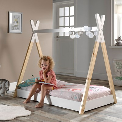 SINGLE TODDLER  WOODEN  CLOUD BED KIDS CHILDREN YOUTH MORE SIZES AVAILABLE