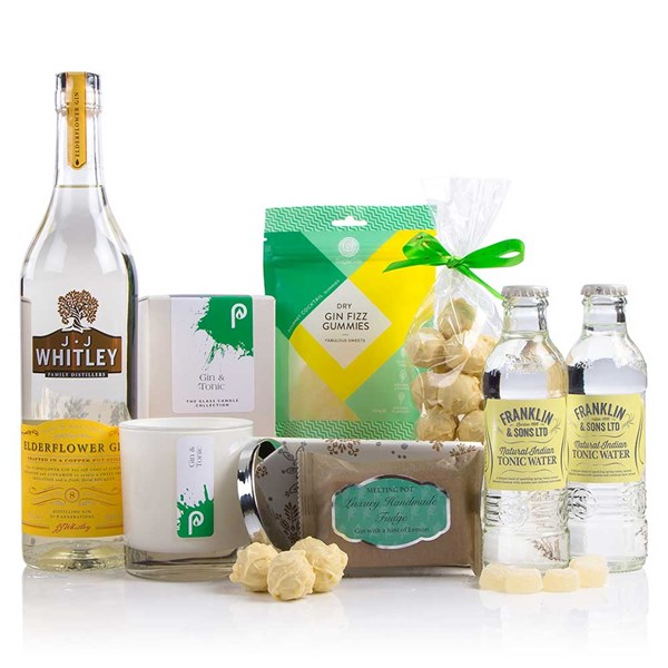 Gin Themed Christmas Gift Box Hamper