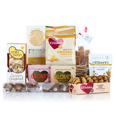 Gluten & Wheat Free Basket Luxury Gift Hamper