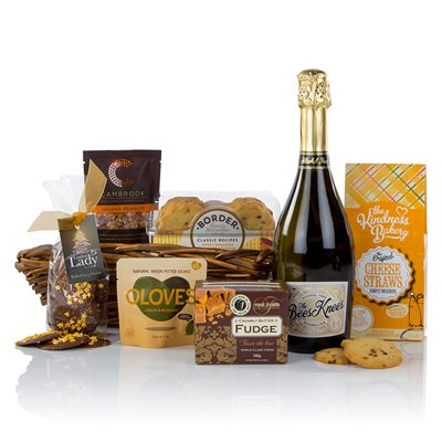 NON-ALCOHOLIC NIBBLES Luxury Gift Hamper