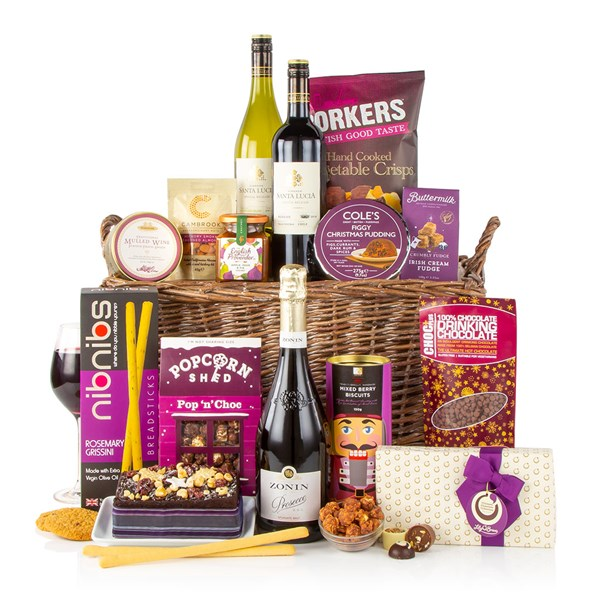 Virginia Hayward A Taste of Christmas Luxury Christmas Food Hamper