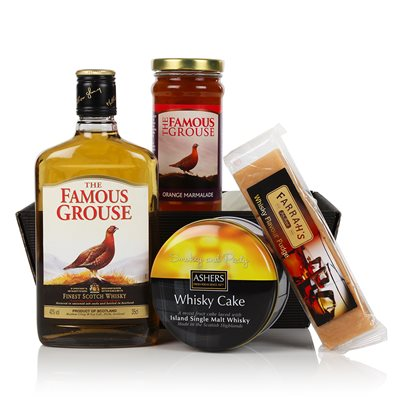 THE WHISKY LOVER'S GIFT Luxury Hamper