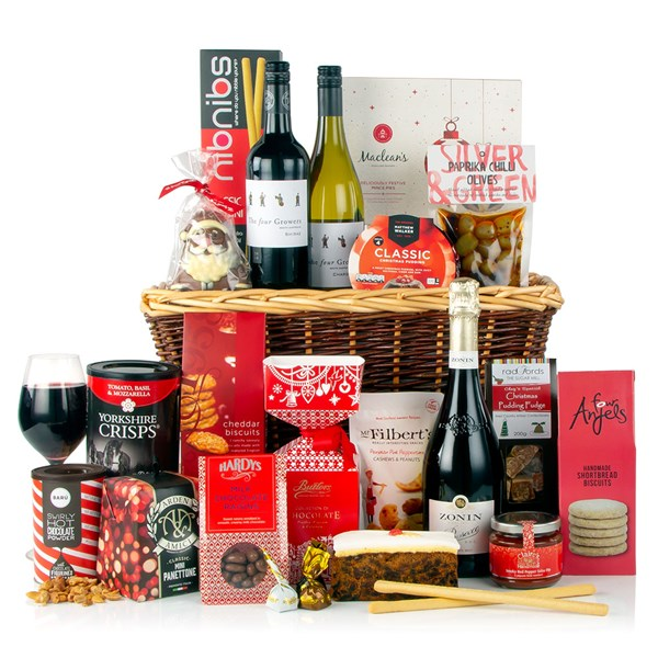 Virginia Hayward A Touch of Class Luxury Christmas Gift Basket