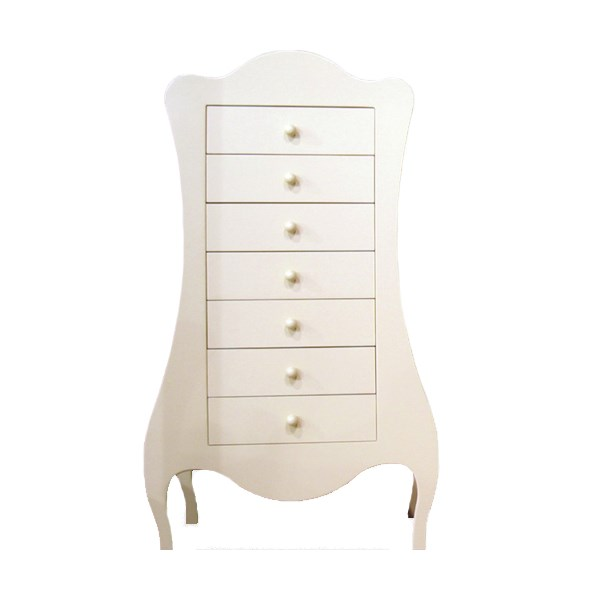 Volute Style Kids Chest of Drawers by Mathy by Bols