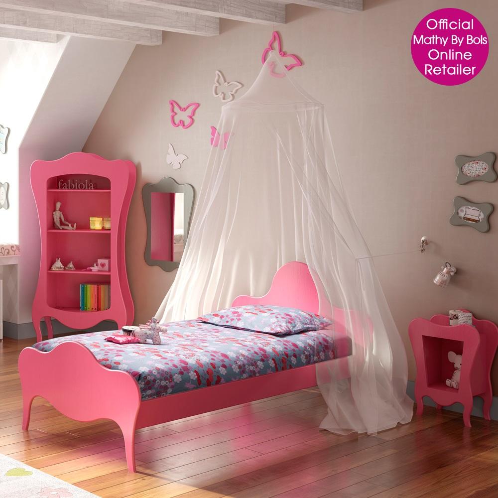 Kids Single Bed In Volute Design - Kids Furniture