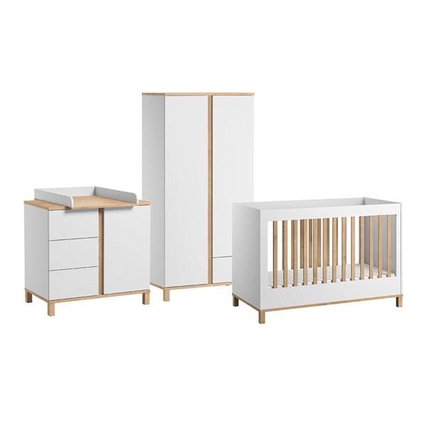 Vox Altitude Cot Bed 3 Piece Nursery Furniture Set